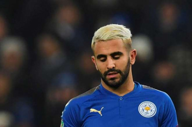 Mahrez is still a no-show at Leicester's training