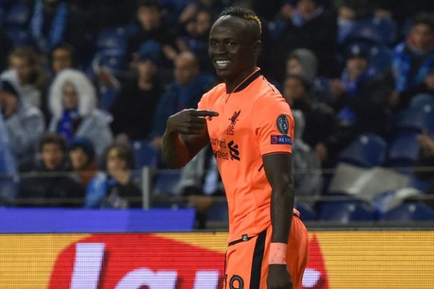 Mane equals Gerrard's UCL knockout-stage record
