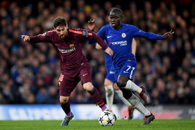 Just like history backed Chelsea last night, Barca will lick their lips as history also favors the 1 -1 draw
