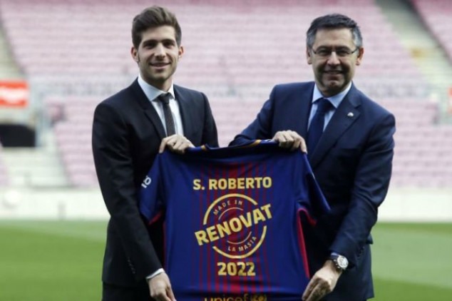 Sergi Roberto signs contract extension
