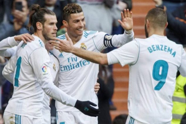 BBC scores, Real Madrid reaches 100-goal mark