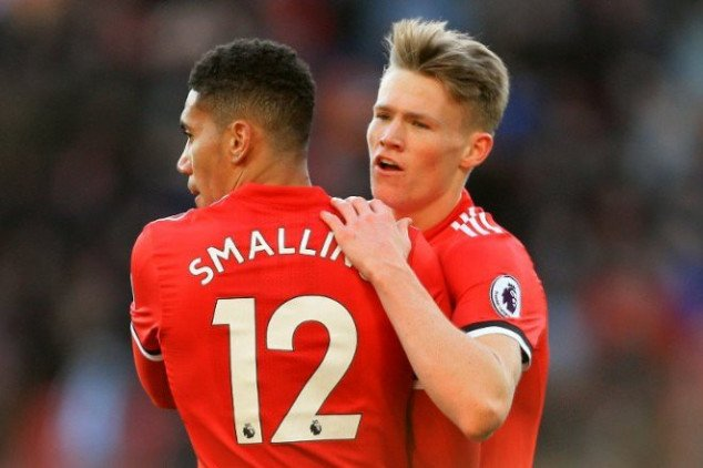 Mourinho praises McTominay's after Chelsea win