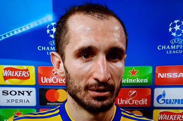 Watch Chiellini break down into tears