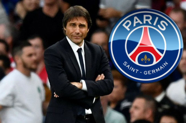 Conte in talks to become PSG's new coach