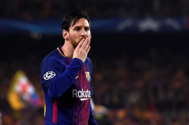 Messi reaches 100th UCL goal