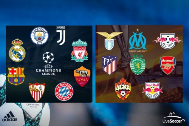 UEFA Champions League draw on March 16