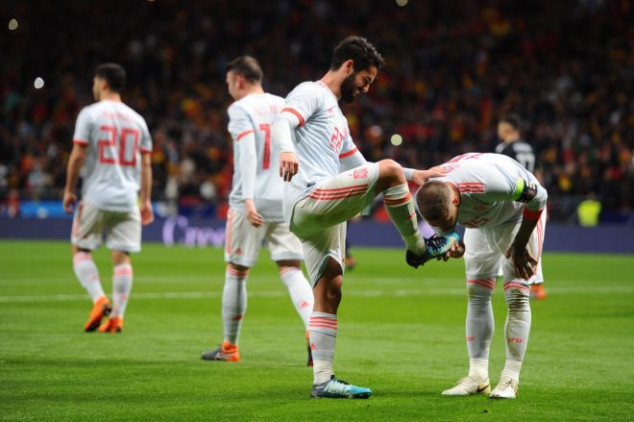 Isco steals the show with hat-trick vs Argentina