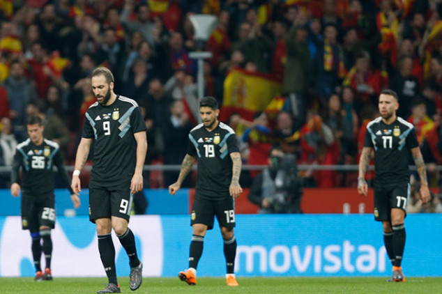 Sampaoli defends his players despite Spain loss