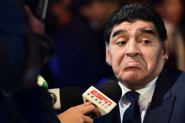 Maradona sends support message to La Albiceleste