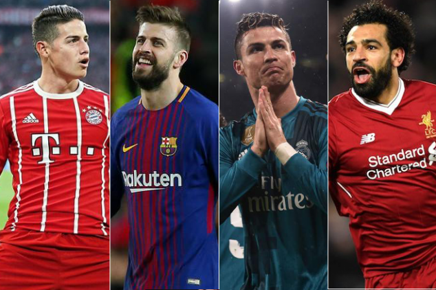 Cristiano misses out on UCL Player of the Week