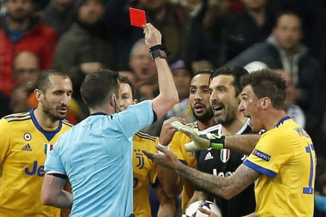Real vs Juve ends in controversy -Video