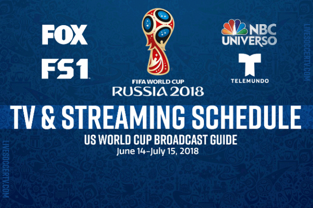 Where to watch the World Cup in the U.S.?