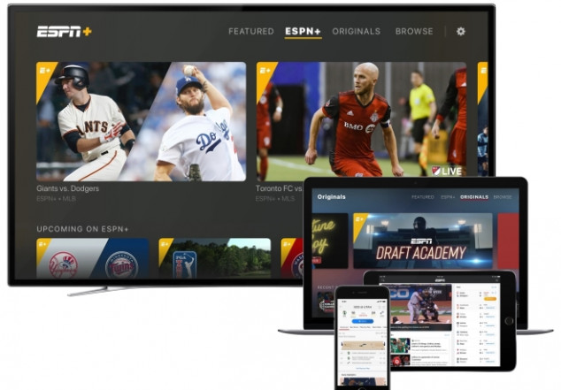 Revamped ESPN+ App launched