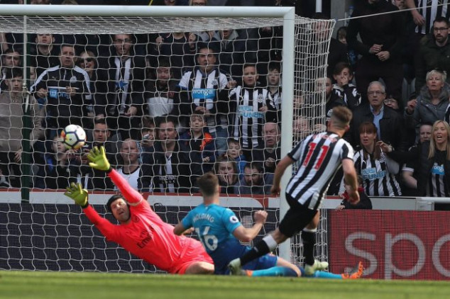 10 facts about Arsenal's 2-1 defeat to Newcastle