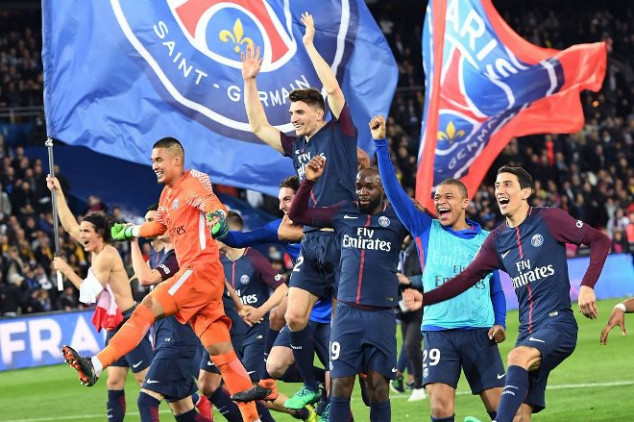Official: Paris Saint-Germain wins French Ligue 1