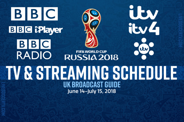 Where to watch the World Cup in the UK?