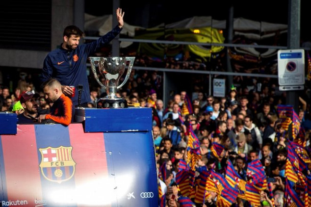 Piqué gets in trouble over shoe prank