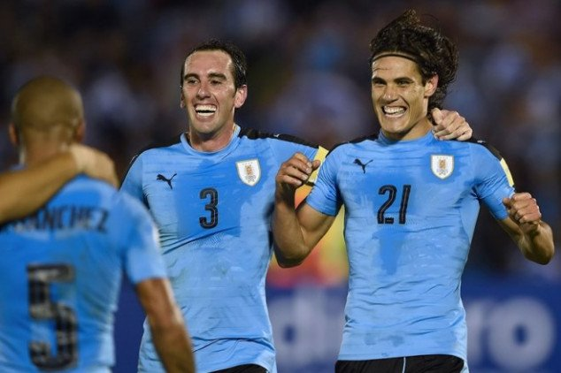 Diego Godin dreams of World Cup glory with Uruguay
