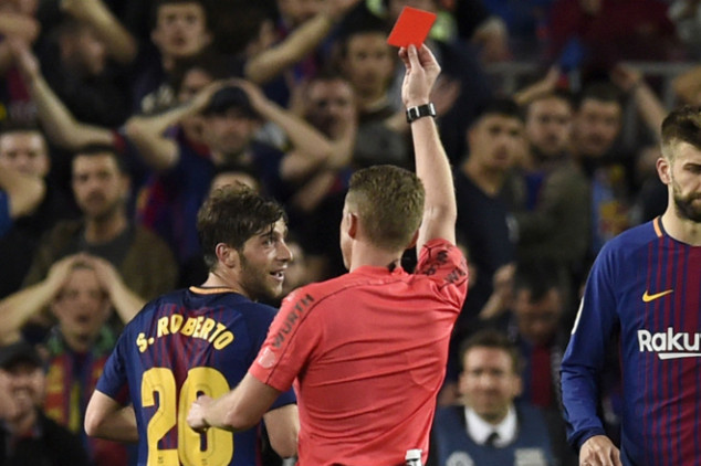 Sergi Roberto banned for four games