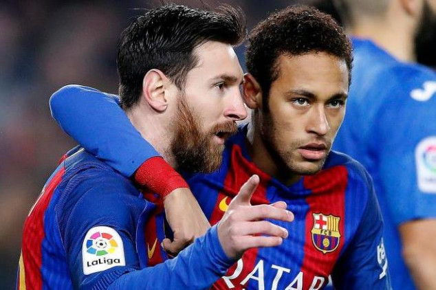 Messi's feelings about Neymar joining R. Madrid
