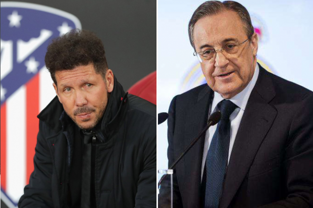 Perez wishes Atletico good luck
