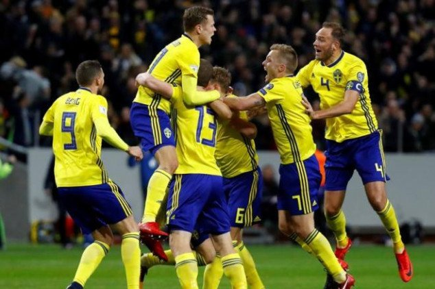 Sweden names a Zlatanless 23-man squad for WC