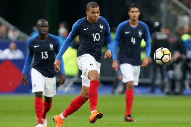 France's 2018 World Cup squad revealed