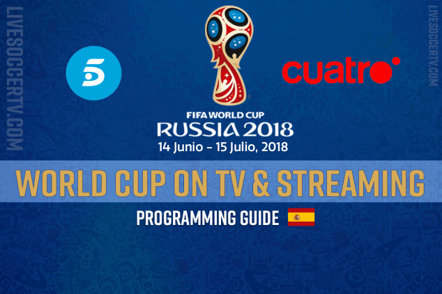 Where to watch the FIFA World Cup in Spain