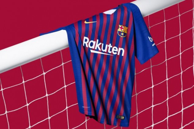 Barcelona will unveil new jersey on Sunday