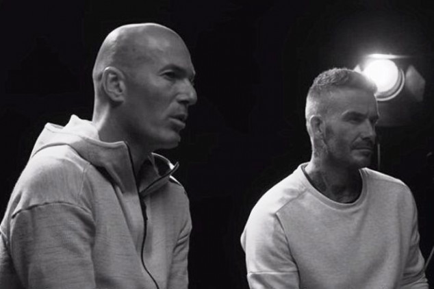 WATCH: What favor did Becks ask Zizou for?