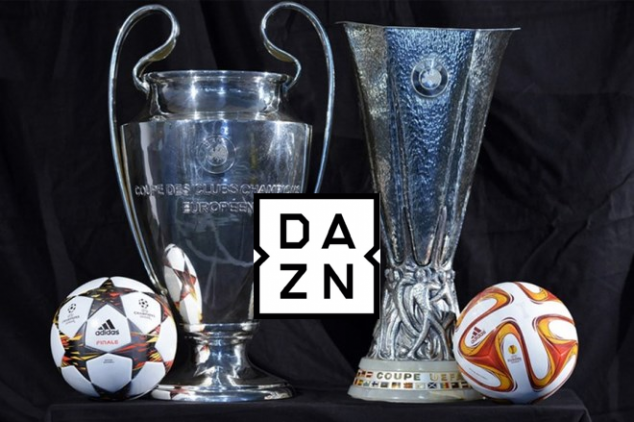 DAZN secures UCL & Europa League braodcast rights