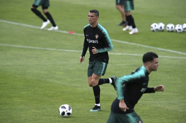 CR7 joins Portugal ahead of FIFA World Cup