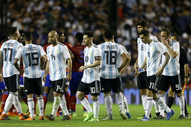Argentina's last warmup game was cancelled