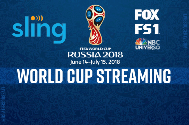 Sling TV Introduces World Cup Viewing Packages