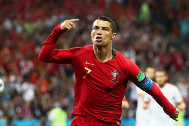 CR7's hat-trick gets him WC record