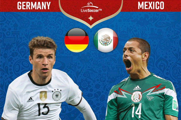 Germany vs Mexico viewing info