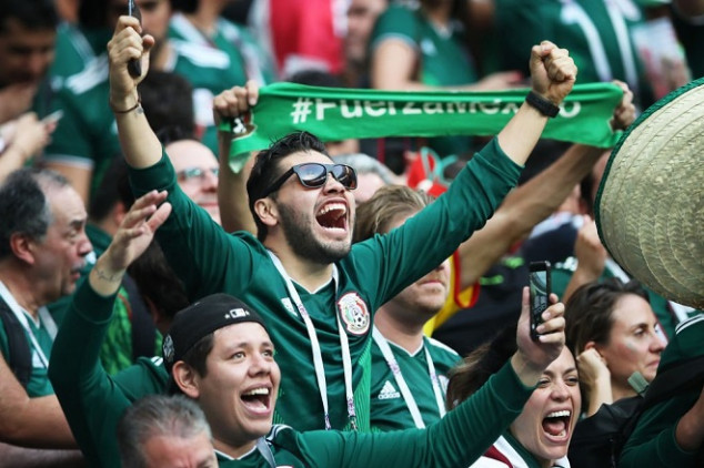 Mexican fans create seismic activity after goal