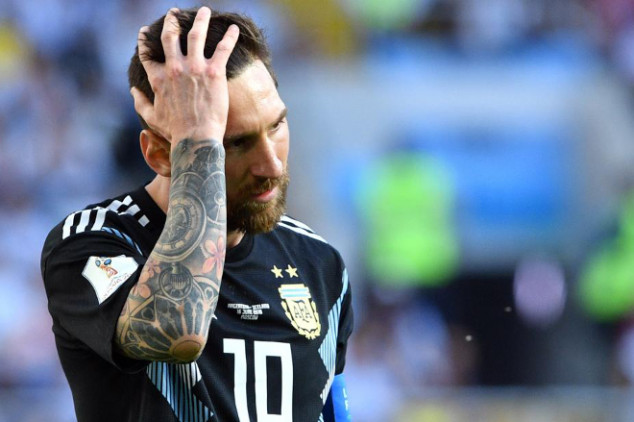 Maradona defends Messi after penalty miss