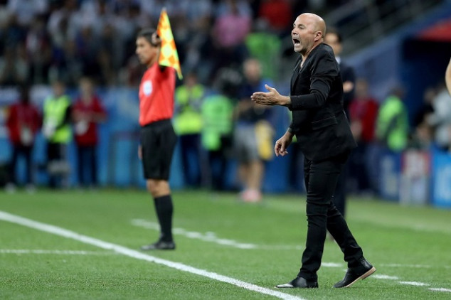 Sampaoli takes the blame for Argentina's loss