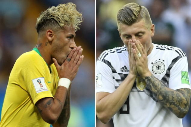 Could Brazil face Germany in round of 16?