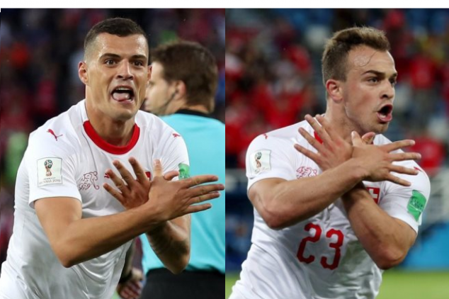 World Cup 2018: Shaqiri and Xhaka to be sanctioned