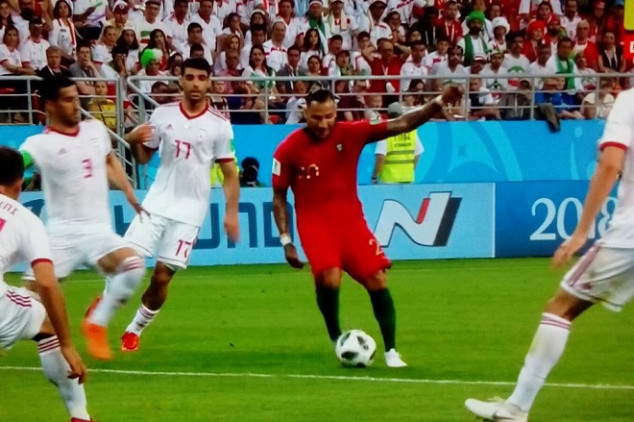 Quaresma's stunner gave Portugal the lead