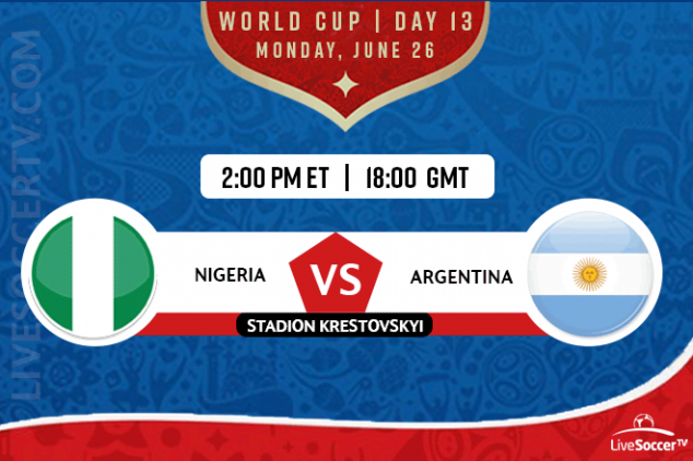 Where to watch Nigeria vs Argentina