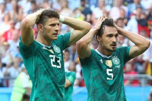 Germany makes woeful WC history