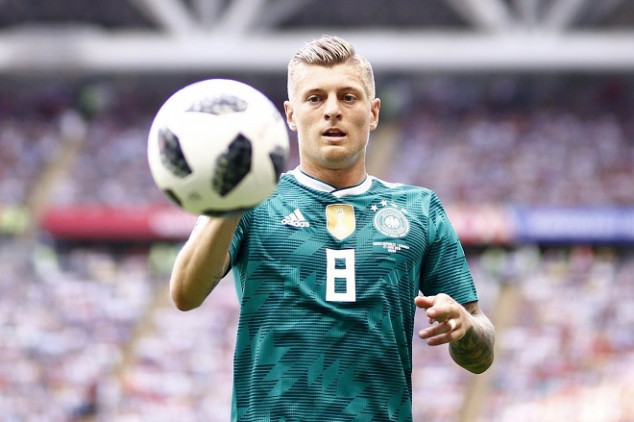 Kroos trolled by Brazilian newspaper