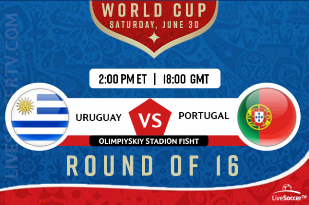 Where to watch Uruguay vs Portugal