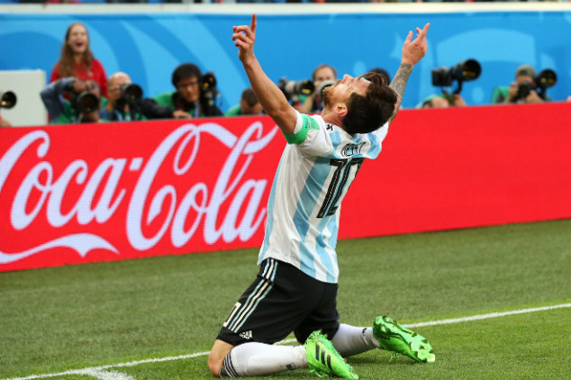 Messi set for new role vs France