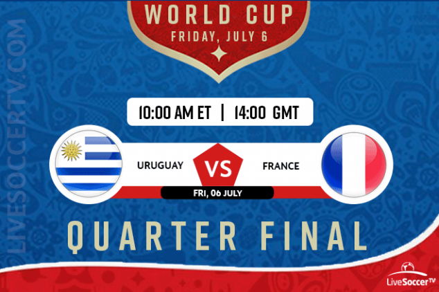 Uruguay vs France viewing info