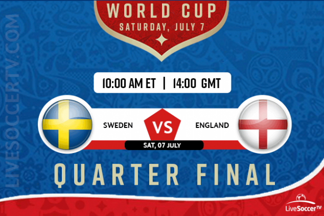 How to watch Sweden vs England live on July 7