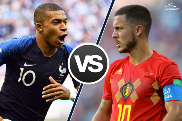 Stats: Hazard the dribbling king ahead of Mbappe